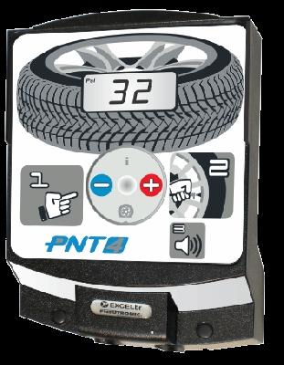 Calibrador eletrônico de pneus Pneutronic PNT4 de parede -ExcelBR