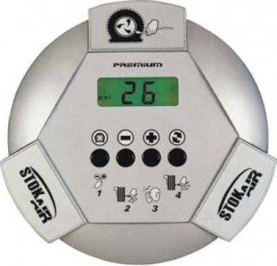 Calibrador eletrônico de pneus Premium - Stok Air