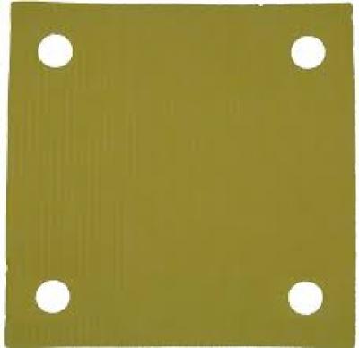 Papelão filtrante  Amarelo - 7x7 - 42F - Valor do kilo.