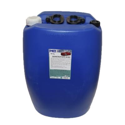 Desincrustante ácido bombona 05 kg,  20kg e 50kg