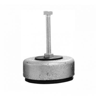 Amortecedor de ferro grande 1/2 - 90 mm -  500 kg