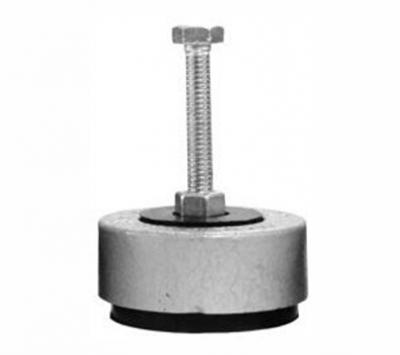 Amortecedor de ferro pequeno 1/2 -  90 mm - 2500 kg
